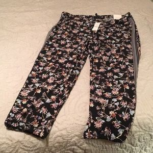WHBM floral pants